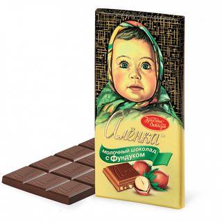 Chocolate Alenka with filbert, 85 gr.