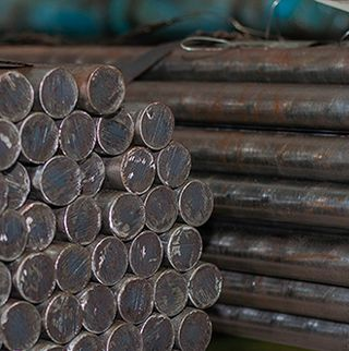 Rolled metal - Circle made of structural alloyed chromium-manganese-nickel steel 38HGN f130mm GOST4543, GOST2590