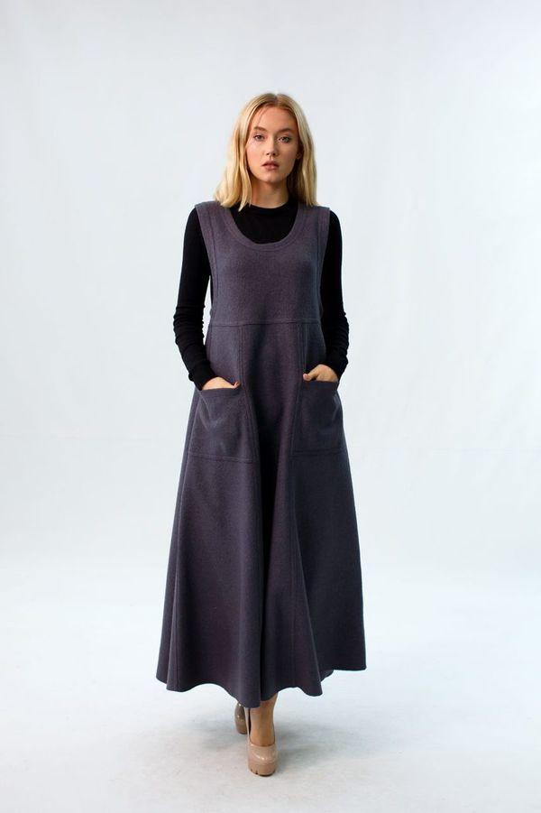 Boiled Wool Dress