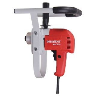 Mixer-drill MD1-11E M, 1100 W, 600 rpm, M14 carving, neck 57 mm, moment 85 Nm, FIOLENT