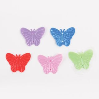 Sequin creativity Butterfly, color assorted pastel, 15 mm, 20 grams, TREASURE ISLAND