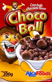 "Dry breakfast ""Chocolate balls"""