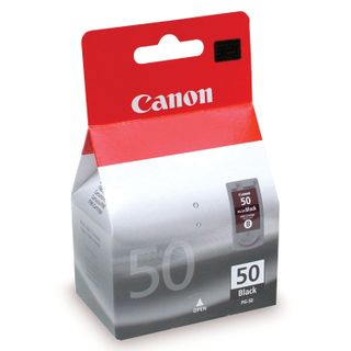 Inkjet cartridge CANON (PG-50) PIXMA MP150 / 170/450/160/460 / JX200 / 500, black, original, enlarged, 520 pages.