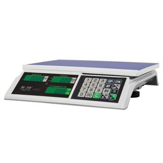 MERCURY / Trade scales M-ER 326AC-15.2 LCD (0.04-15 kg) without stand, resolution 5 g, platform 325x230 mm