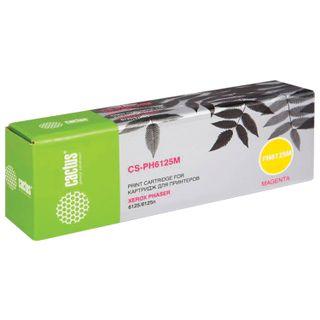 XEROX Phaser 6125 CACTUS Toner Cartridge (CS-PH6125M) Magenta 1000 Pages Yield