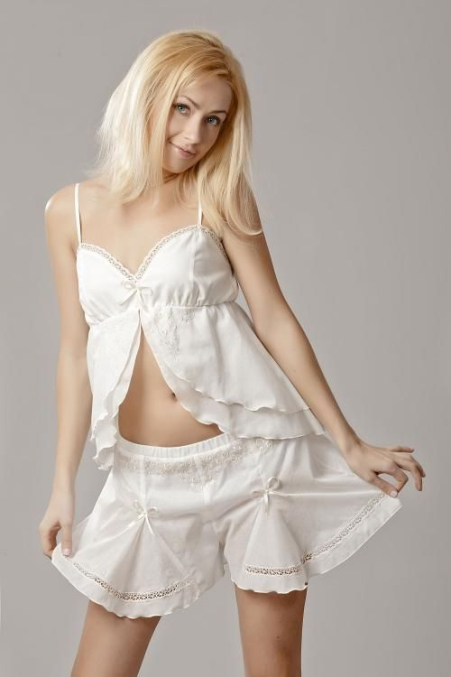 """Top shirt women's night """"Sweet fantasy"""" embroidery"""