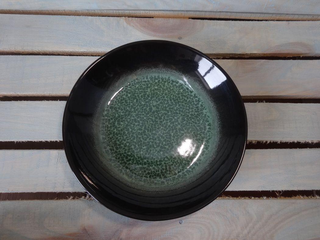 "Horex / Plate ""Verde Notte"" for pilaf 3 pcs."