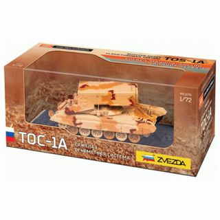 TOS-1A Flame-Fire System, 1:72 scale, STAR