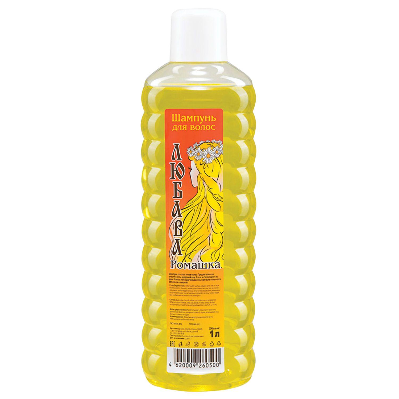 "Shampoo LYUBAVA ""Chamomile"" for all hair types 1 l"