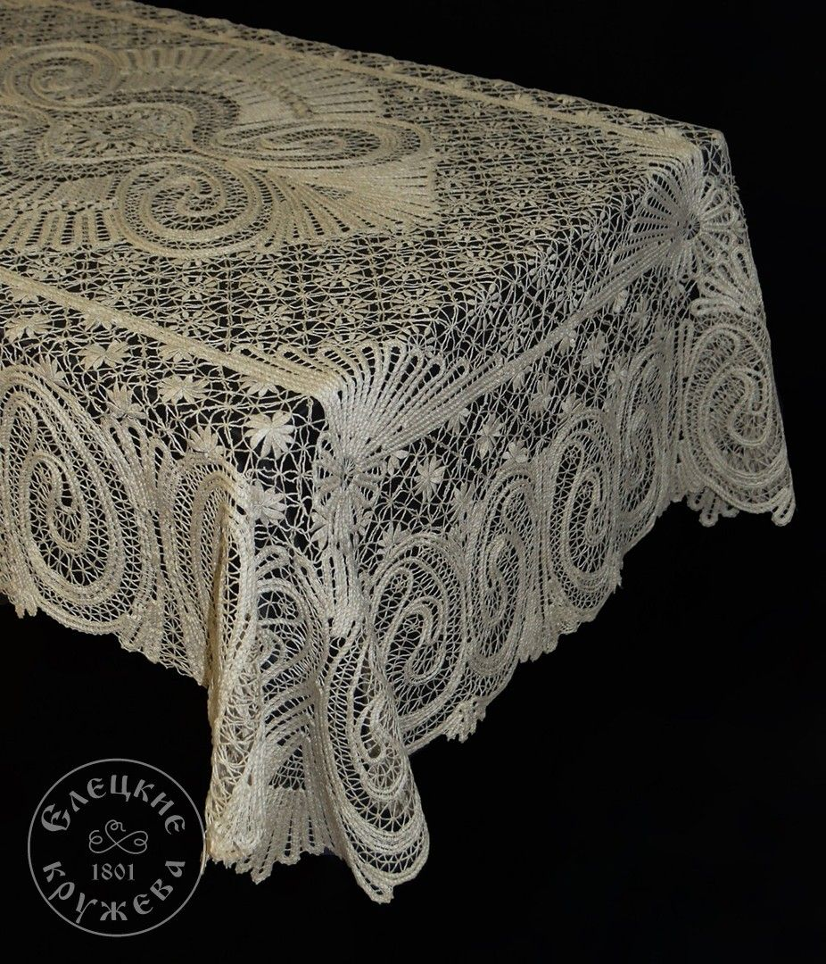 Yelets lace / Lace tablecloth С1774