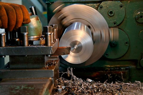 Metal machining service on a lathe, deep drilling of metal up to 1000mm deep