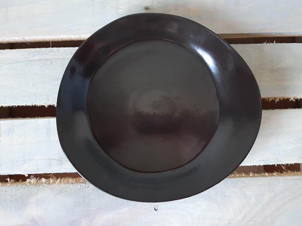 """Horex / Plate """"Carbone"""" pietra piccolo 6 pcs."""