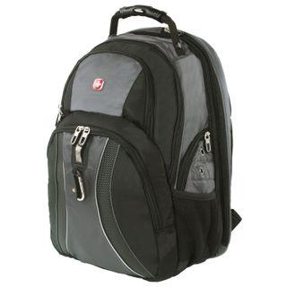 WENGER backpack, universal, black and grey ScanSmart feature, 36 l, 34х23х47 cm