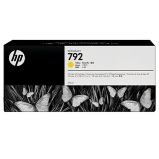 Inkjet cartridge HP (CN708A) DesignJet L26500, # 792, yellow, original