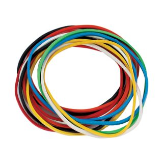 Universal bank rubber bands with a diameter of 60 mm, OFFISMAG 100 g, colored, natural rubber