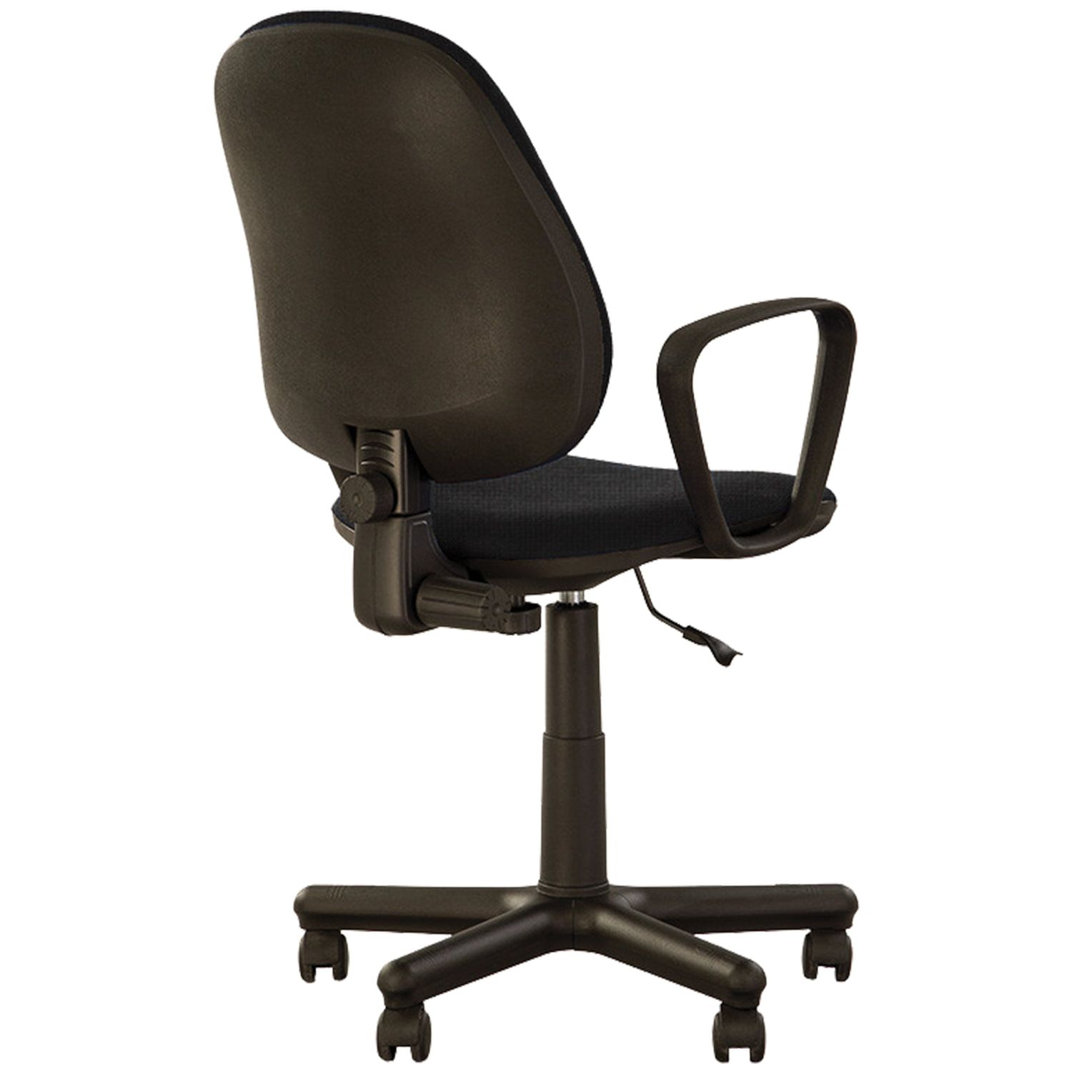 """Armchair """"Forex GTP"""", with armrests, black-gray"""