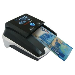 DOCASH / GOLF banknote detector, automatic, IR, MAGNETIC, ANTISTOX detection, battery