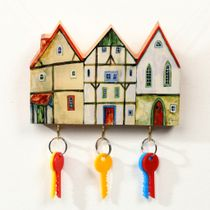 Key holders for wall wooden
