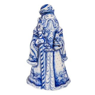 Damask Santa Claus 2nd grade, Gzhel Porcelain factory