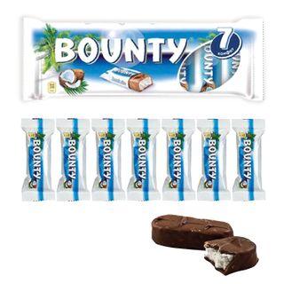 BOUNTY / Chocolate bars multipack, 7 pcs. 27.5 g each (192.5 g)