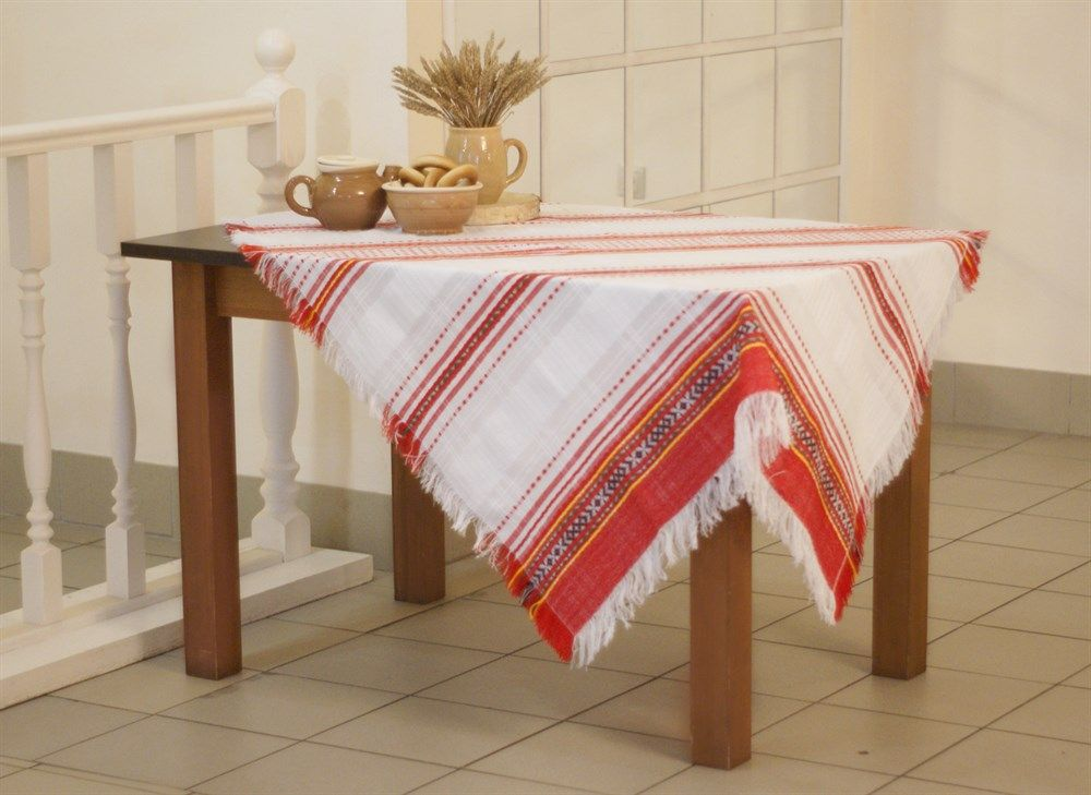 "Tablecloth ""Gornitsa"" in the Russian style, 147х116"