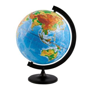 GLOBE WORLD / Physical globe, diameter 320 mm