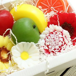 Handmade soap set Fruit summer