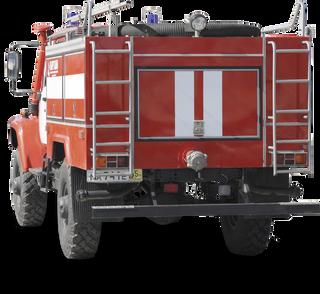Tank truck fire fighting patrol ATL 1 40 GAZ-3308