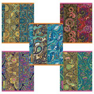 Notebook A5, 48 sheets, HATBER, staple, cage, 3D foil, matte lamination,