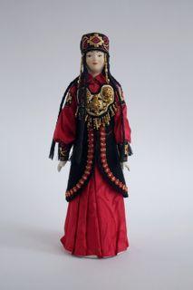 Doll gift. Women's costume. Khakassia