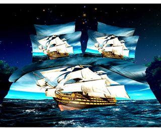 Satin bed linen 3D Cruise