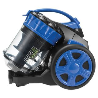 Vacuum ECON ECO-1657VC, container, cyclone, 1600 W suction power 340 W, black/blue