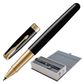 Rollerball pen PARKER 'Sonnet Black Lacquer GT Core' case, black glossy lacquer, gold plated parts, black - view 1