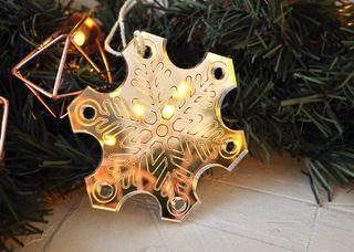 Christmas toy mirror Herringbone