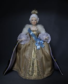 "Porcelain doll ""Catherine II the Great"""