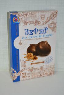 Zephyr glazed 'With condensed milk' 250 g.