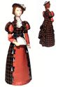 Day women's costume of the Late 19th century - St. Petersburg .Doll gift - view 1