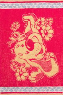 Towel Dog daisies Art. 3994