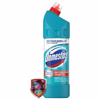"""Cleaner DOMESTOS (Domestos) """"Freshness of the Atlantic"""" with a whitening effect 1 l"""