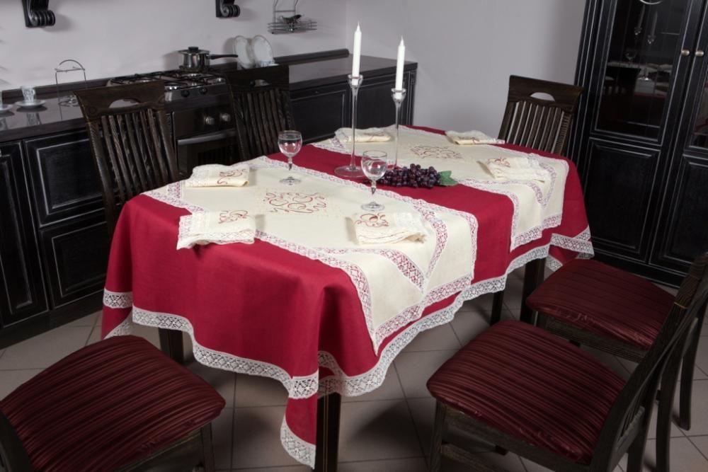 "Set of table linens ""Christmas balls"""