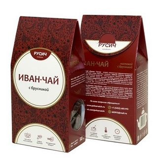 "Ivan-tea ""RUSICH"", leaf with cranberries, 50 g"