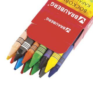 Wax crayons BRAUBERG