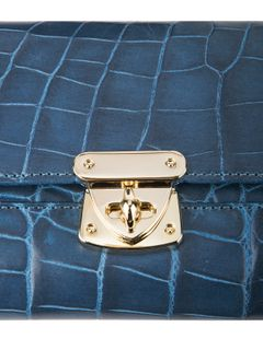 "Women's purse from the collection ""Croco style"""