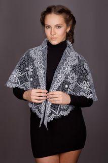 Women's drape lace with decorative pattern
