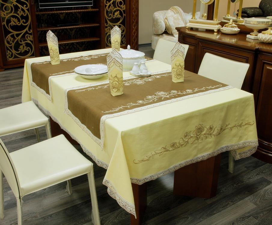 "Set of table linen ""Irises"""