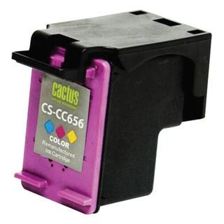 Inkjet cartridge CACTUS (CS-CC656) for HP OfficeJet J4580 / J4660 / J4680, color, yield 360 pages.