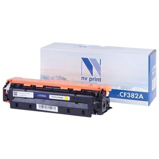 Toner Cartridge NV PRINT (NV-CF382A) for HP LJ M476dn / M476dw / M476nw, yellow, yield 2700 pages