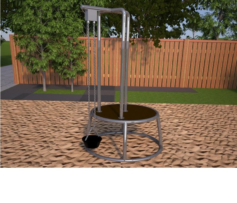 "Hercules / Mobile children's playground ""Station small"", sand"