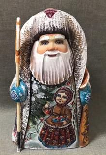 Santa Claus wooden souvenir