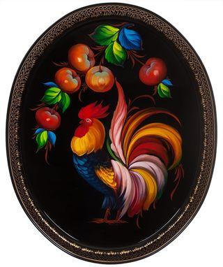 Zhostovo / Tray, by Shamenkova S. 51x41 cm